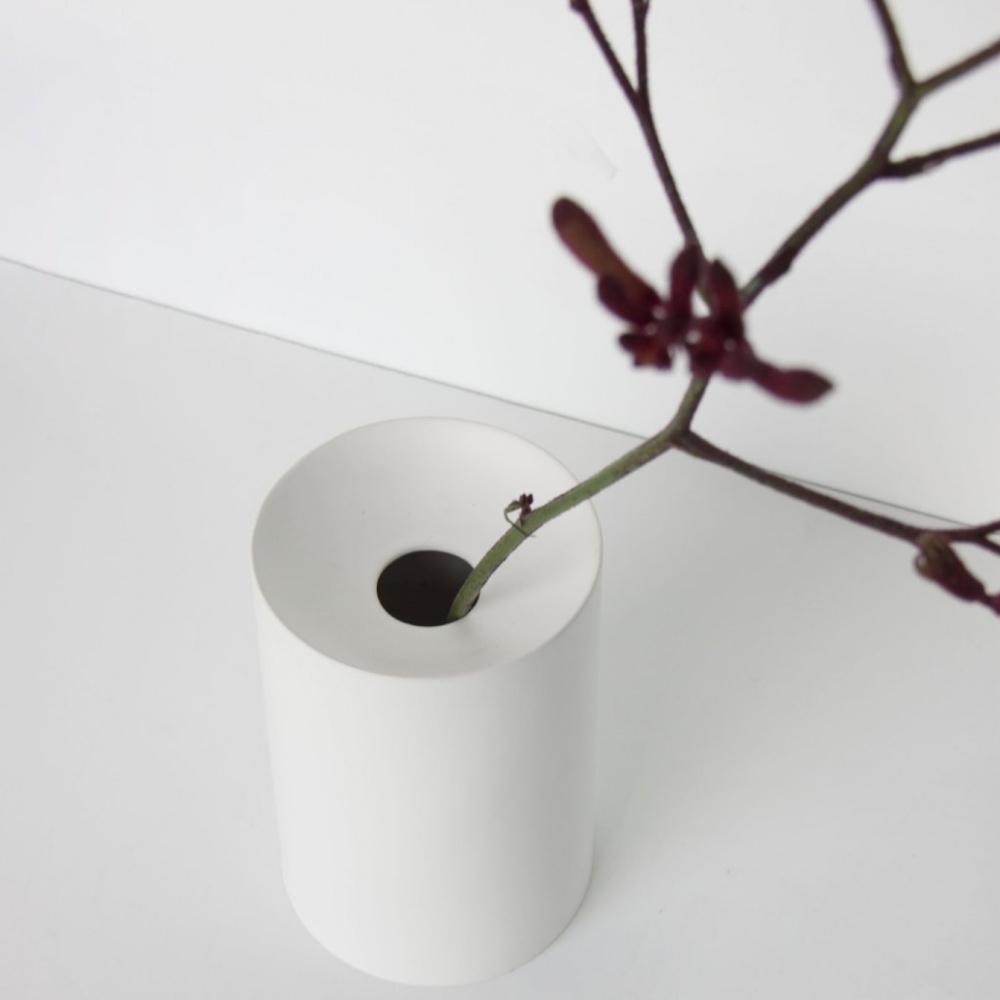 1bb406006ce5e UNC Vase matt - hvit - litengave.no